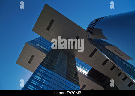 crane house in Cologne - Stock Photo