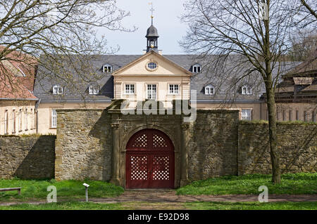 Impressions from the Abbey Dalheim, Germany - Stock Photo