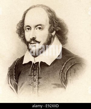 William Shakespeare (1564–1616), English Poet, Playwright and Actor, Widely Recognized as Greatest Dramatist, Portrait