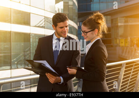 portrait of Business people - Stock Photo
