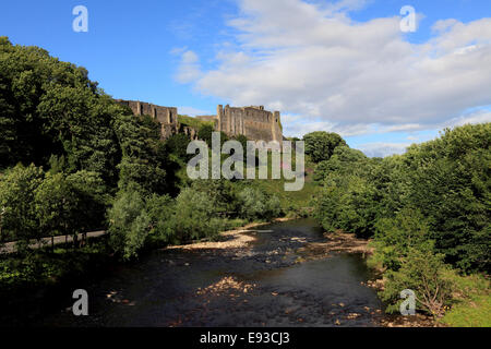 3260.The Castle, Richmond, North Yorkshire, UK - Stock Photo