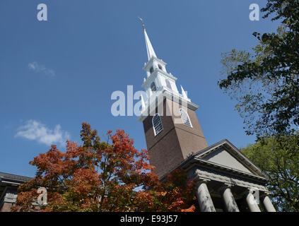 Harvard University, Memorial Church - Stock Photo