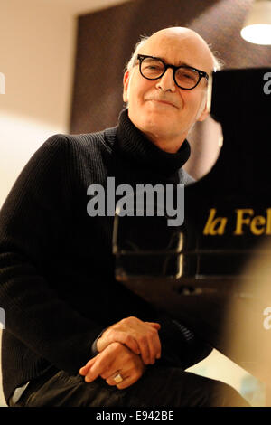 Ludovico Einaudi pianist - composer close-up - Stock Photo