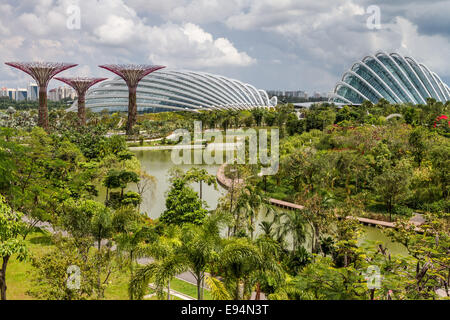 Garden By The Bay Attractions singapore tourist attractions - flower dome at gardensthe bay
