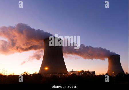 Civaux Nuclear Power Plant, Vienne, Poitou-Charentes region, France - Stock Photo