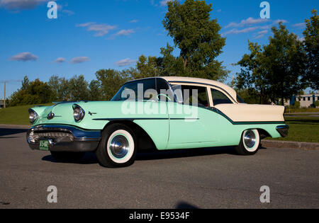 1957 Oldsmobile, Magog, Quebec, Canada - Stock Photo
