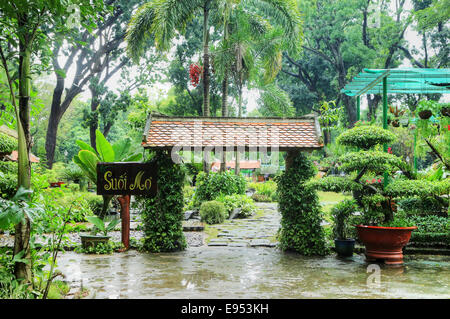 Botanical Gardens and Zoo Ho Chi Minh City Saigon Vietnam Stock ...