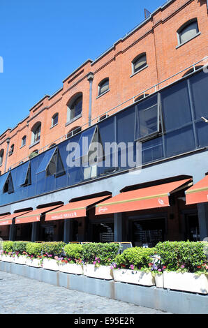 Parrilla El Mirasol restaurant Puerto Madero Buenos Aires Argentina - Stock Photo