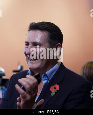 Rome, Italy. 20th October, 2014. Tony Hadley of Spandau Ballet at a photocall for 'Soul Boys of the Western World/Spandau - Stock Photo