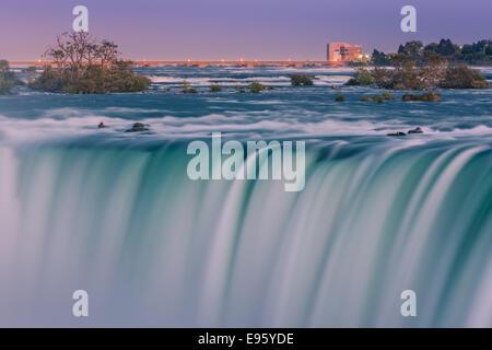 Horseshoe Falls, part of the Niagara Falls, Ontario, Canada.