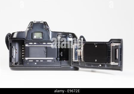 analogue 35mm reflex camera, SLR - Stock Photo