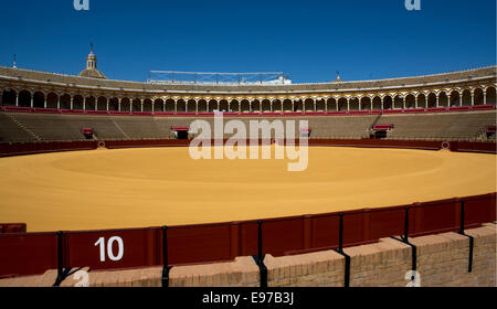 Plaza de Toros in Sevilla - Stock Photo