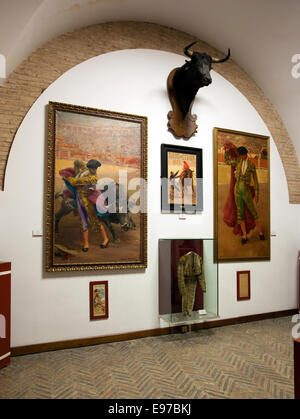 The museum in Plaza de Toros in Seville - Stock Photo