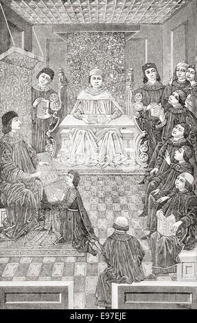 Antonio de Nebrija, 1441 – 1522 aka Antonio de Lebrija, Elio Antonio de Lebrija, Antonius Nebrissensis and Antonio - Stock Photo