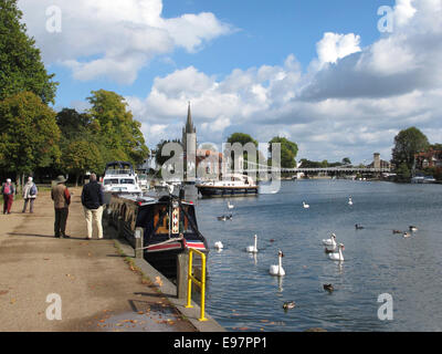 Marlow, Buckinghamshire, UK - Stock Photo