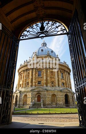 Radcliffe Camera, Oxford, England, UK. - Stock Photo