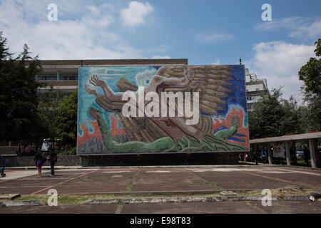 National Autonomous University of Mexico - Stock Photo
