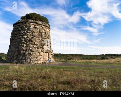 dh Battlefield cairn CULLODEN MOOR SCOTLAND 1745 rebellion Scottish highlands Uprising Memorial stone Highland Jacobite battle field 1746 clan battles
