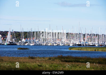 Marina Heiligenhafen, Baltic Sea, Germany - Stock Photo
