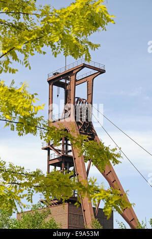 Zeche Zollverein mine, Essen, Germany - Stock Photo