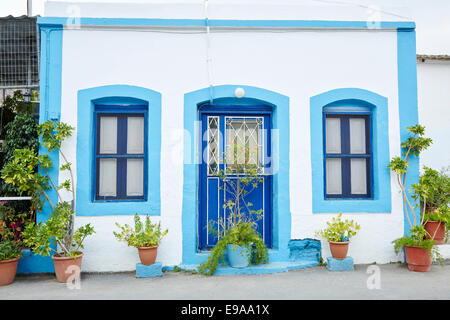 Traditional House in Pserimos, Kalimnos, Kos - Stock Photo