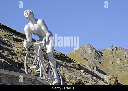 Col du Tourmalet, mountain, Bareges, France - Stock Photo