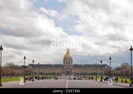 L'hotel national des Invalides Paris - Stock Photo