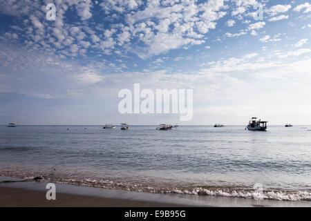 Pemuteran beach, Bali, Indonesia - Stock Photo