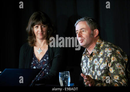 Emma BridgeWater & Matthew Rice - Stock Photo