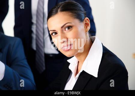Portrait of attractive woman - Stock Photo