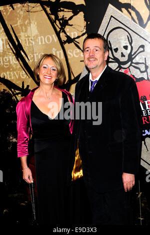 London, UK. 24th Oct, 2014. Mark Billingham attend the Specsavers Crime Thriller Awards 2014 at the Grosvenor House - Stock Photo