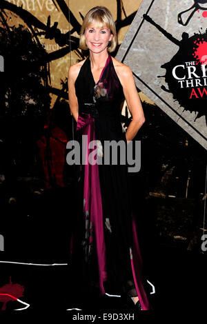 London, UK. 24th Oct, 2014. Kate Mosse attend the Specsavers Crime Thriller Awards 2014 at the Grosvenor House Hotel - Stock Photo