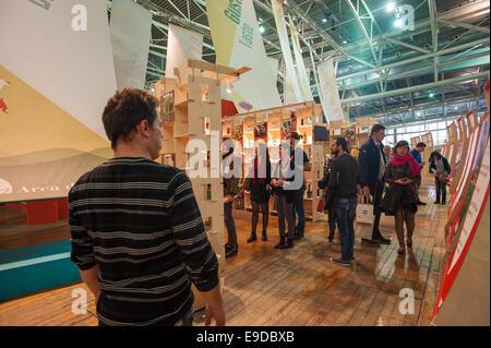 Lingotto Fiere, Torino, Italy. 25th Oct, 2014.  Salone del Gusto e Terra Madre Credit:  Realy Easy Star/Alamy Live - Stock Photo