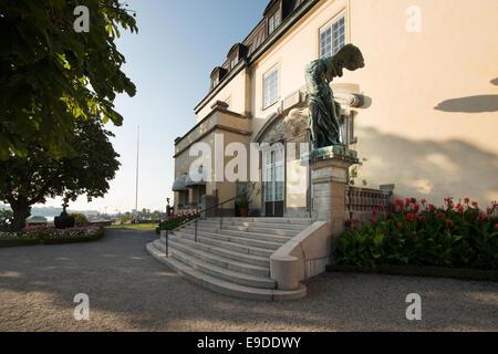 Prince Eugens Waldemarsudde, museum and galley, former home of Prince Eugen, Djurgården, Stockholm, Stockholm County, - Stock Photo