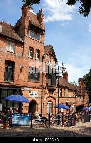 The Castle Pub Nottingham. Opposite Nottingham Castle in the city centre. UK - Stock Photo