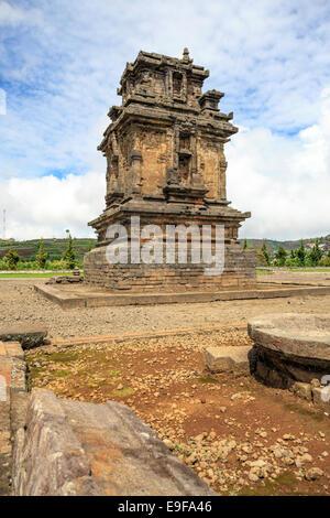 Arjuna complex temple Indonesia - Stock Photo