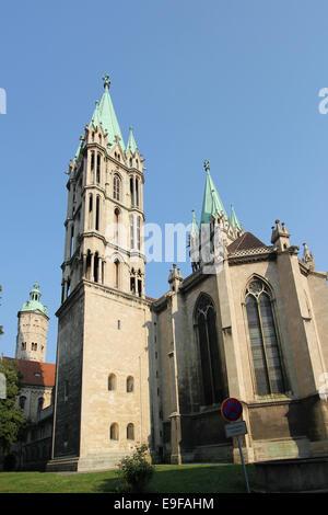 Cathedral of Naumburg, Germany - Stock Photo
