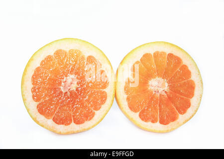 Halved Grapefruit - Stock Photo