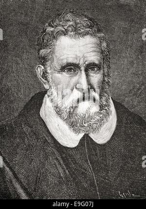 Marco Polo, 1254 – 1324.  Italian merchant traveler from Venice. - Stock Photo