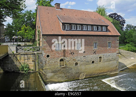 historic building, Telgte, Germany - Stock Photo