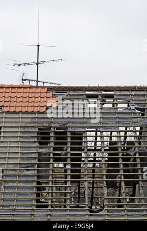 construction site, Dortmund, Germany - Stock Photo