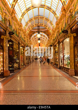 County Arcade, Victoria Quarter, Leeds, West Yorkshire, England, United Kingdom - Stock Photo