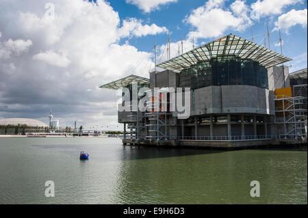 Oceanário de Lisboa or Lisbon Oceanarium, Lisbon, Lisbon District, Portugal - Stock Photo