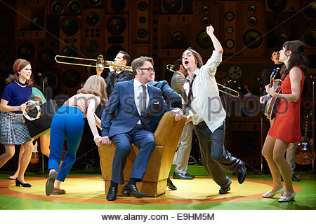 Sunny Afternoon. A Musical.based on the music of The Kinks. Book by Joe Penhall, Music and Lyrics by Ray Davies. - Stock Photo