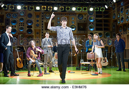 Sunny Afternoon. A Musical. The Kinks, Book by Joe Penhall, Music and Lyrics by Ray Davies. A Hampstead Theatre - Stock Photo