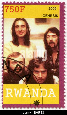 RWANDA - 2009: shows Genesis - Stock Photo