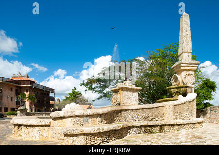 Dominikanische Republik, Osten, La Romana, Casa del Campo, Altos de Chavon - Stock Photo