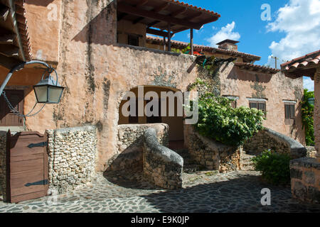 Dominikanische Republik, Osten, La Romana,  Casa del Campo, Altos de Chavon, - Stock Photo