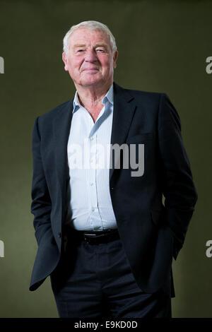 British politician and diplomat Baron Ashdown, usually known as Paddy Ashdown at the Edinburgh Book Festival. - Stock Photo