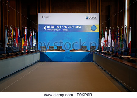 Signing Of The International Agreement Over Automatic Information